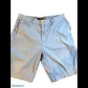 Quiksilver Waterman Collection light blue shorts